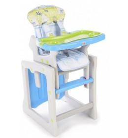 Stolica za hranjenje Berber Tiesto 2u1 plava