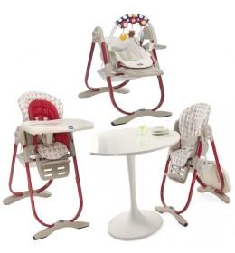 Stolica za hranjenje Chicco Polly Magic Pois 3u1