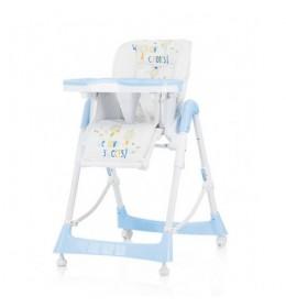 Stolica za hranjenje Chipolino Comfort Plus blue