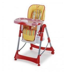 Stolica za hranjenje Plebani Sirio crvena