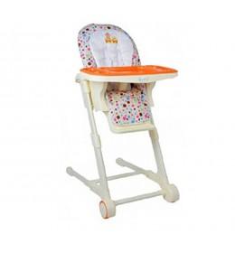Stolica za hranjenje Puerri Aroma narandžasta
