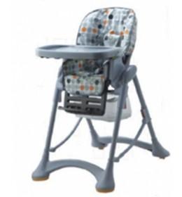 Stolica za hranjenje Puerri Hungry siva