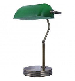 Stona bankarska lampa EL7940 crno hrom
