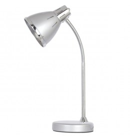 Stona lampa Elit srebrna EL7948