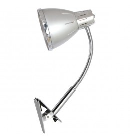 Stona lampa sa štipaljkom Elit srebrna EL7958