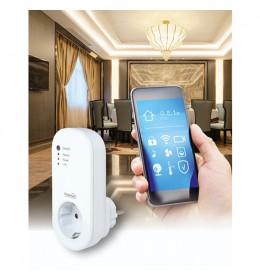 Strujna utičnica sa Wi-Fi kontrolom Wi-Fi + RF smart utičnica NVS2RF