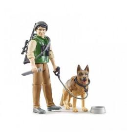 Šumar sa psom Bruder 626600