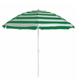 Suncobran 180 cm Zeleno beli