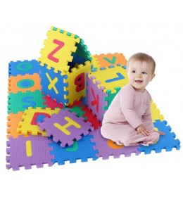 Sunđeraste puzzle za pod