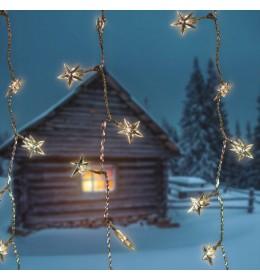 Svetleća LED zavesa Star za spoljašnji i unutrašnji prostor