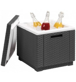 Tabure frigo Ice cube grafit