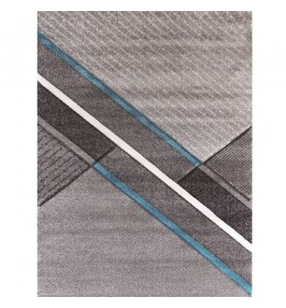 Tepih Ekol Diamond 21659-953 siva/ plava 80x150 cm