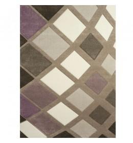 Tepih Ekol Diamond 21668-750 lila/ bež 80x150 cm