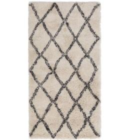 Tepih čupav 80x150 prlj.bela
