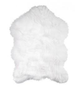 Tepih veštačka jagnjeća koža White