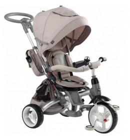 Tricikl za decu Tiger Mody Bež - rotirajuće sedište