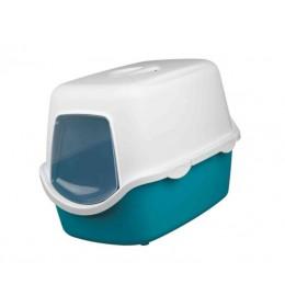 Toalet za mačke akvamarin 40x40x56 cm