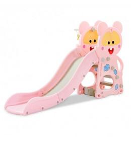 Tobogan i koš 014 Pink