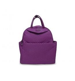 Torba za mamu Tots Infinity Purple Quilt