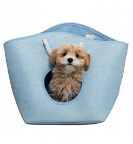 Torba za nošenje malih pasa Trixie Emma Blue