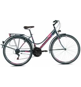Touring Bike Sunrise Tour Lady 28 Grafit Pink 17