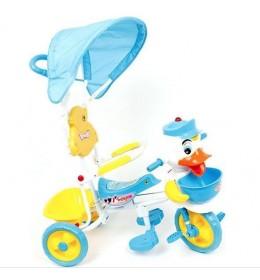 Tricikl dečiji plavi Glory bike TR4067-B