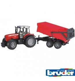 Traktor Ferguson sa prikolicom