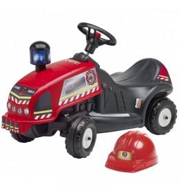 Traktor guralica Falk Vatrogasac + šlem