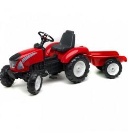 Traktor na pedale Falk Garden Master - crveni
