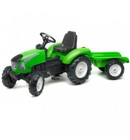 Traktor na pedale Falk Garden Master - zeleni