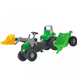 Traktor na pedale Junior sa kašikom i prikolicom