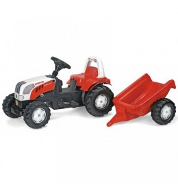 Traktor na pedale RollyToys Steyr sa prikolicom