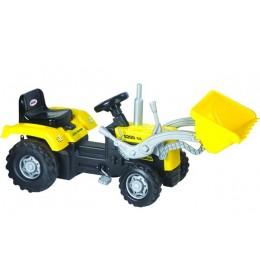 Traktor na pedale sa kašikom Dolu