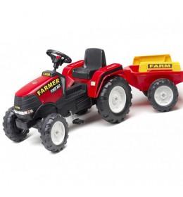 Traktor na pedale sa prikolicom Farmer Power