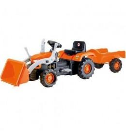 Traktor na pedale sa prikolicom i kašikom Dolu