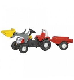 Traktor RollyToys Steyr sa prikolicom i utovarivačem