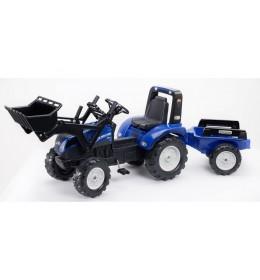 Traktor sa prikolicom Falk Toys 3090M New Holland T8