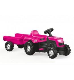 Traktor sa prikolicom na pedale Jednorog