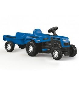 Traktor sa prikolicom na pedale Plavi Dolu Ranchero