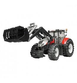 Traktor Steyr 6300 Terrus CVT Bruder 031817 sa utovarivačem