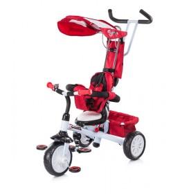 Tricikl Chipolino Cros fit crveno beli