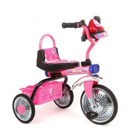 Tricikl dečiji rozi Glory bike TR505A-P