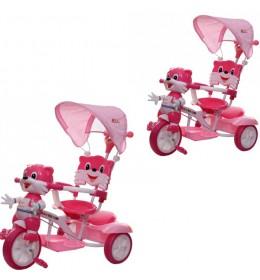 Tricikl Lija pink