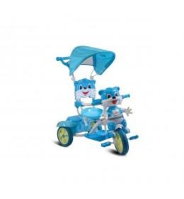 Tricikl Lija sa suncobranom plavi