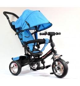 Tricikl Simple 411 sa tendom od lanenog platna Plavi