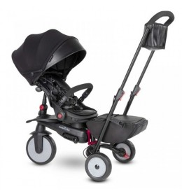 Tricikl Smart Trike Urban STR7 crni