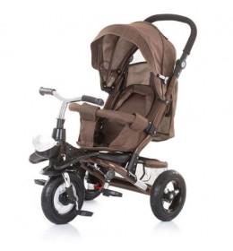 Tricikl za bebe chipolino polar braon