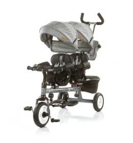 Tricikl za blizance Apollo Ash