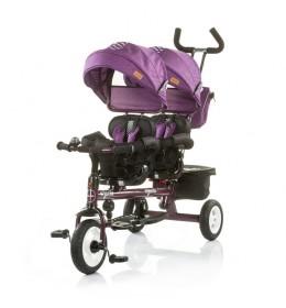 Tricikl za blizance Apollo Very Berry