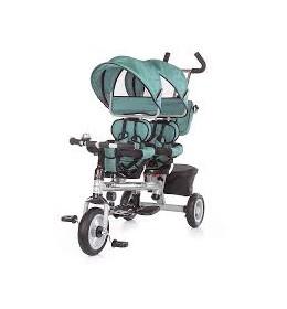 Tricikl za blizance Chipolino Apollo ocean
